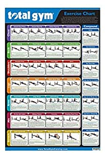 Amazon.com : Total Gym Exercise Chart : Home Gyms : Sports & Outdoors