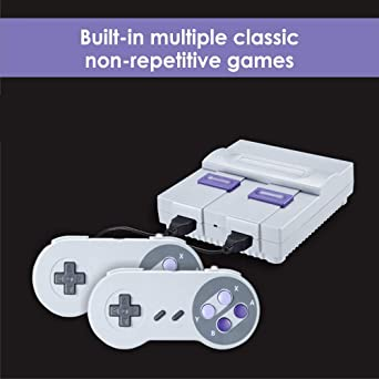 Amazon Com Hdmi Hd Mini Classic Game Console Mini Retro Game Console Built In 821 Classic Video Games And 2 Handheld Game Consoles Suitable For Daily Leisure Entertainment For Game Lovers Video Games