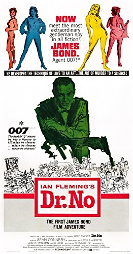 Dr. No Movie Poster Masterprint (11 x 17)