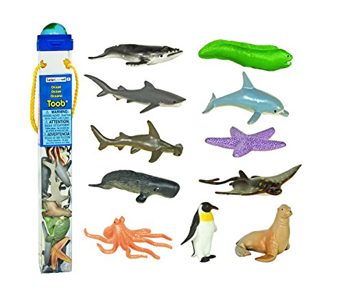 Safari Ltd Ocean TOOB Comes With 12