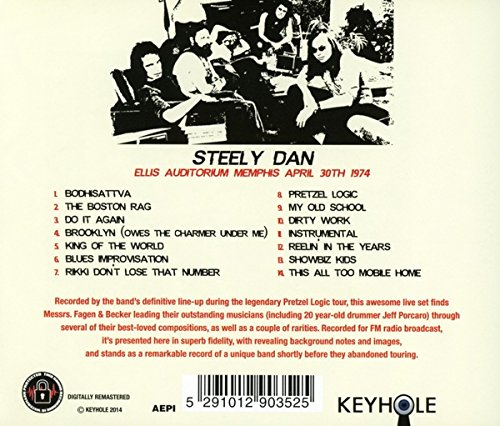 STEELY DAN - Ellis Auditorium Memphis April 30Th 1974 ...
