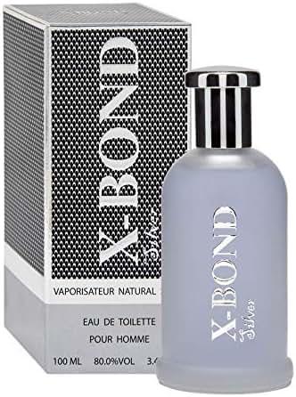 X-Bond Eau de Toilette for Men - 3.4 oz (FRESH-WOODY)