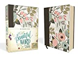 NIV, Beautiful Word Bible, Cloth over Board, Multi-color Floral: 500 Full-Color Illustrated Verses: more info