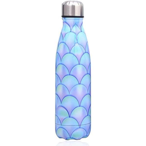 KAILH Doble Pared con Aislamiento de Botella Agua de Acero ...