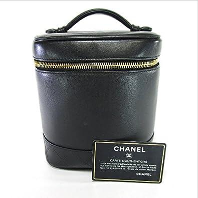 d98eb8ca1fc2 Amazon   (シャネル)CHANEL バニティバッグ ビコローレ 化粧ポーチ ラムスキン レディース 中古   レディースバッグ・財布