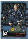 #4: 2016 Donruss Holographic #143 Luka Modric Real Madrid CF Soccer Card