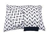 Bacati Aztec/Tribal Bucks 3 Piece Cotton Breathable Muslin Toddler Bedding Sheet Set, Navy