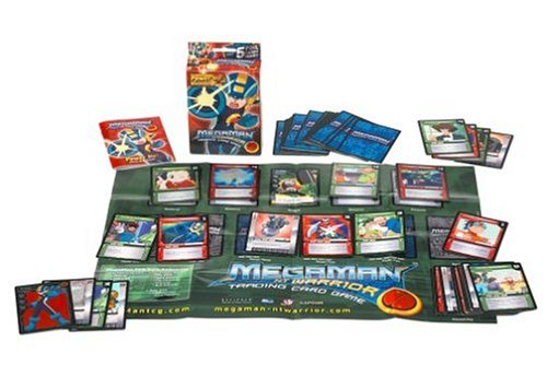 Mega Man NT Warrior Trading Card Game Power Up! Starter Deck Mega Man by Decipher