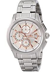 Invicta Mens 1481 Specialty Collection Chronograph Silver Dial Stainless Steel Watch