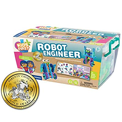 Kids First Robot Engineer Kit and Storybook: Toys & Games