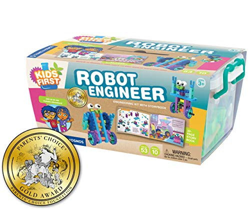 Kids First Robot Engineer Kit and Storybook -