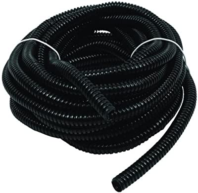 "Wire Loom Black 100' Feet 3/8"" Split Tubing Hose Cover Auto Home Marine"