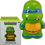 ninja turtle piggy bank - Teenage Mutant Ninja Turtles Leonardo Ceramic Piggy Bank, Leo Coin Bank, Coin Deposit
