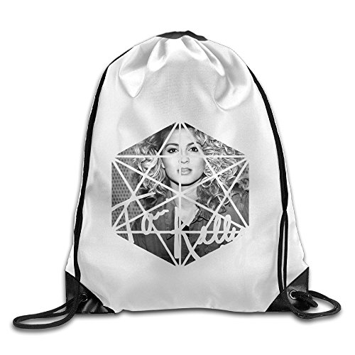 Bekey Tori Kelly Poster Gym Drawstring Backpack Bags For Men & Women For Home Travel Storage Use Gym Traveling Shopping Sport Yoga Running