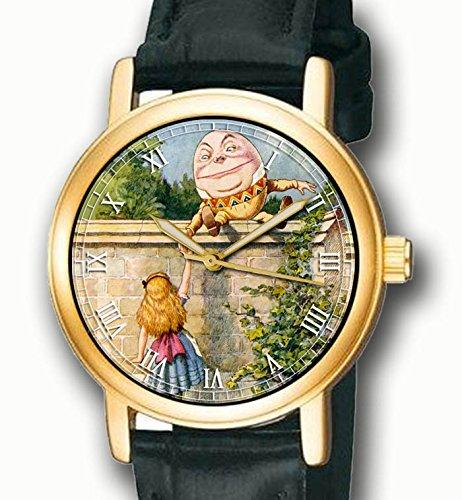 """Alicia en el país de las maravillas raras John Tenniel Multicolor arte """"Humpty Dumpty"""