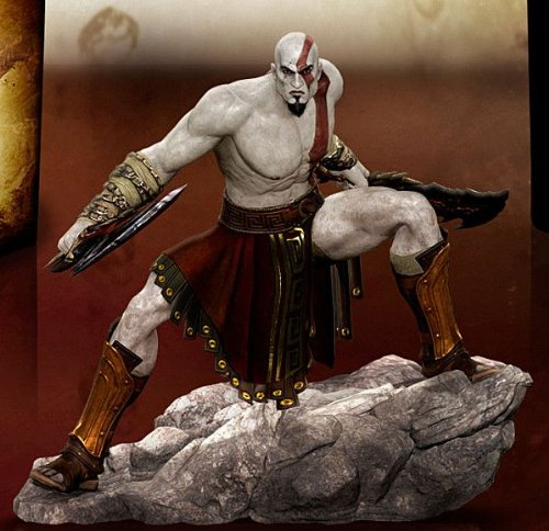 God Of War Ascension Exclusive 6  Kratos Statue