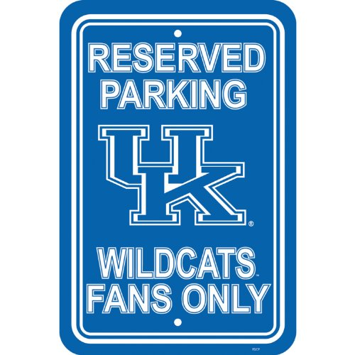 (Flagpole To Go NCAA Kentucky Wildcats Parking Sign)