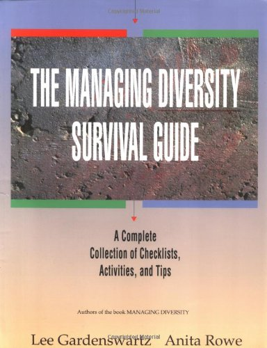 The Managing Diversity Survival Guide: A Complete Collection of Checklists, Activities, and Tips/Book and - Store List Lee Outlets