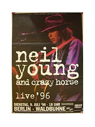 Neil Young Poster Crazy Horse Berlin '96 at Amazon's ...