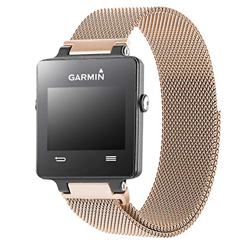 Oitom Replacement Band/Strap for GARMIN VIVOACTIVE Smart Fitness Watch, Small, Rose Gold