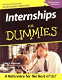 Internships For Dummies? (For Dummies (Lifestyles Paperback))