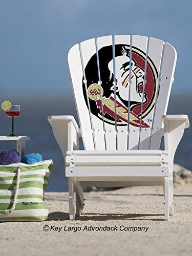 25 Year Adirondack Chair - Florida State Seminoles Engraving (Largo Chair Lounge)