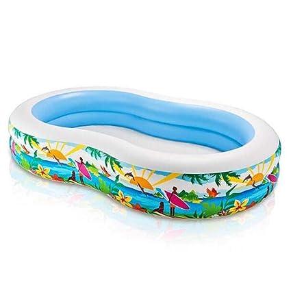 Amazon.com: Colorful Family piscina inflable, piscina de 8 ...