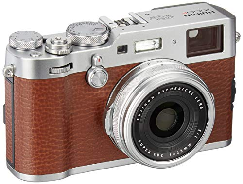 Fujifilm X100F 24.3 MP APS-C Digital Camera - Brown
