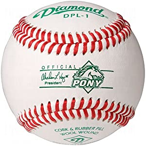 Diamond Pony League Competition Grade Baseball, Dozen