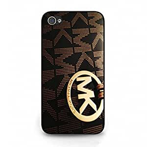 Cover Shell Classical Cool Pattern Michael New Kors Phone Case Cover for Iphone 4 4s MK Logo New Fashional