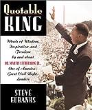 Quotable King, Shirley Washington and Steve Eubanks, 1931249113
