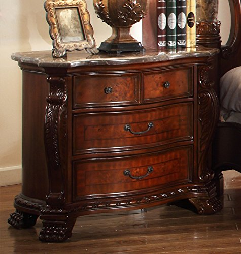 Meridian Furniture Luxor Nightstand