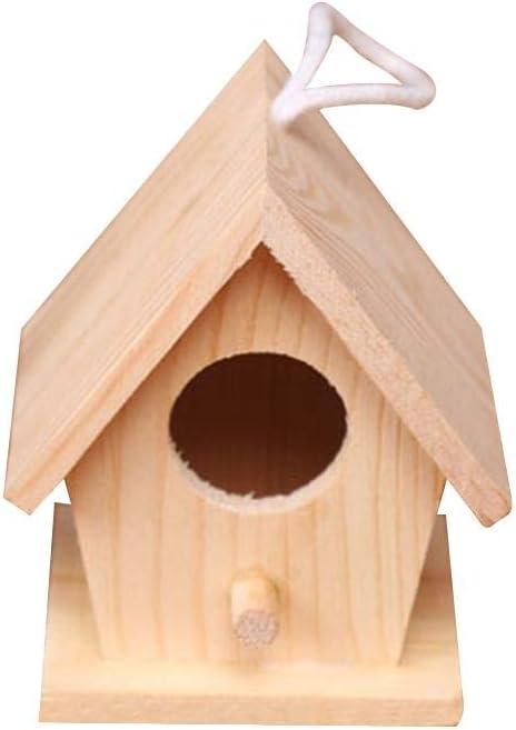 tidystore Casitas para Pájaros Ornamento De La Jaula De Pájaros De Birdhouse Pequeño Solamente para Los Diversos Estilos De La Decoración para El Regalo Casero del Balcón