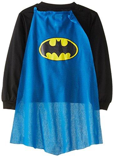 DC Comics Little Boys' Batman with Blue Cape Pajamas 6
