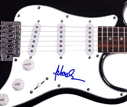 Sebastian Bach Skidrow autografiado, firmado guitarra eléctrica UACC R AFTAL: Amazon.es: Hogar