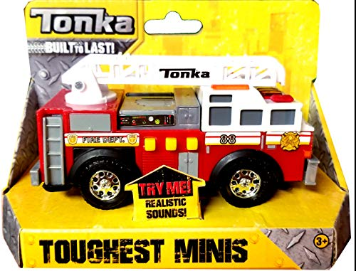 Tonka Toughest Minis Fire Department (Large Tonka Fire Truck)