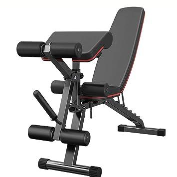 Bancos ajustables Fitness All-in-One Bench, Unisex Adultos, Banco de servicios