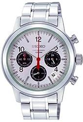 Seiko Men's SSB003 Stainless Steel Bracelet Watch