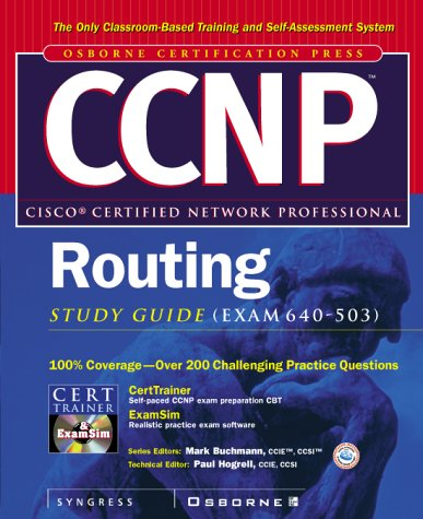 Read Online CCNP(TM) Routing Study Guide (Exam 640-503) pdf