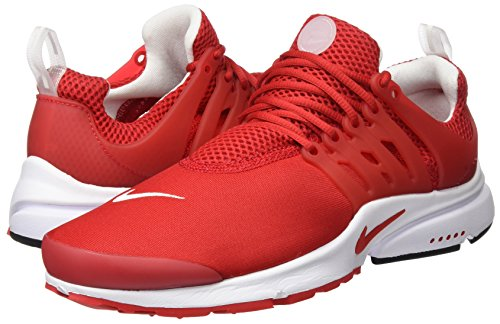 Nike Heren Lucht Presto Essentieel Universiteit Rood / Wit