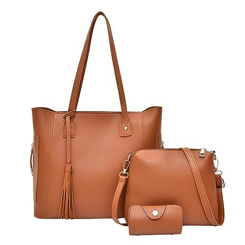 Damen Tohole Handtasche Leder Business Faux Umhängetasche BrdCoexWQE