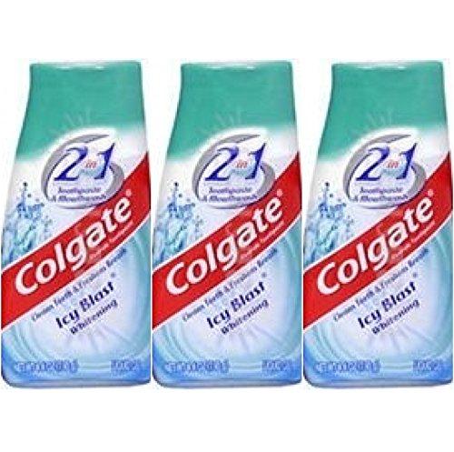 Colgate Toothpaste Mouthwash Whitening Liquid