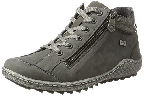 up Lace Grey Women's R1483 Remonte Shoes Hightop x1TAwFw