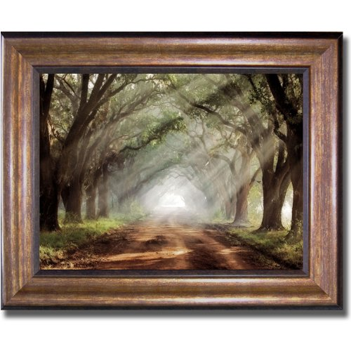 (Evergreen Plantation by Mike Jones Premium Bronze Framed Canvas (Ready to Hang))