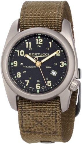 - Bertucci Men's 12700 A-2T Original Classics Durable Titanium Field Watch