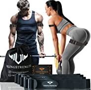 Vikingstrength Blood Resistance Bands - Adjustable Occlusion Straps for Arms and Legs for Fitness and Bodybuil