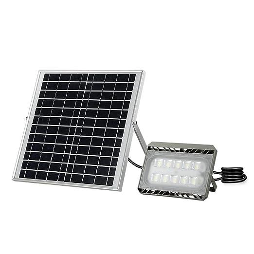 Q-floodlightS Csndice Home Solar Foco Proyector LED,Luz De ...