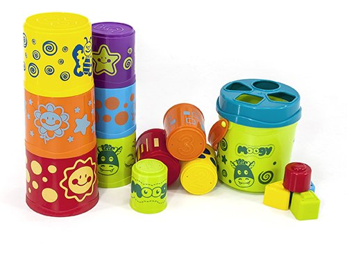 Giantte Déco Moogy Stacking Buckets Set Image