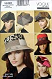 Vogue Patterns V8681 Hats, All Sizes