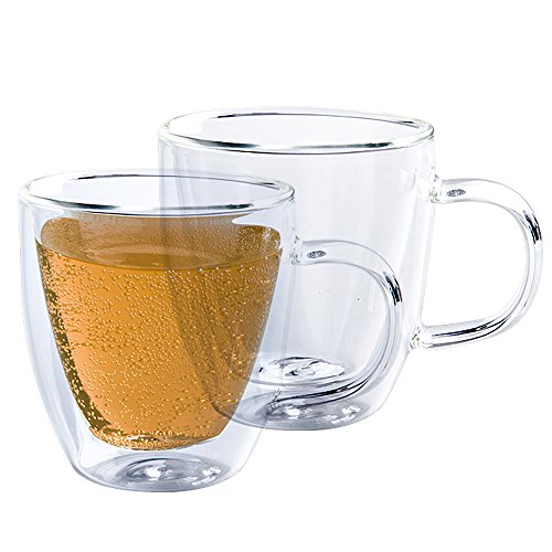 clear expresso mugs - 8